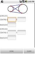 Screenshot of Coordinates calculator c and c