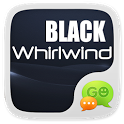 GO SMS BLACK WHIRLWIND THEME icon