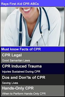 Rays First Aid CPR ABCs - screenshot thumbnail