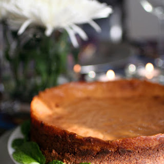 Gluten-Free Pumpkin Cheesecake