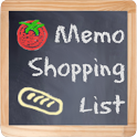 Memo shopping list icon