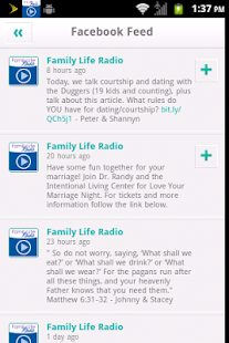Family Life Radio- screenshot thumbnail