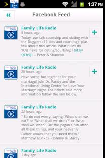 Family Life Radio - screenshot thumbnail