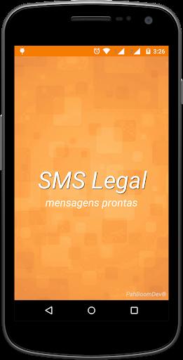 SMSLegal mensagens prontas.