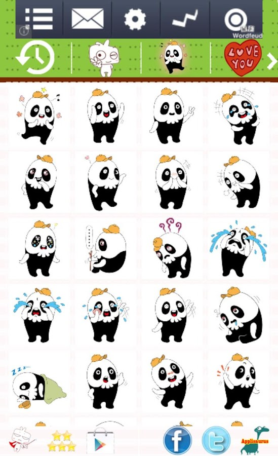 Cute! Free WhatsApp Emoji - screenshot