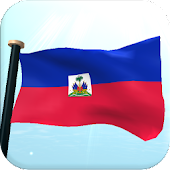 Haiti Flag 3D Live Wallpaper