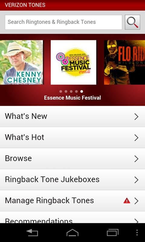 Verizon Tones Android Apps on Google Play
