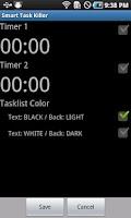 Screenshot of Smart Task Killer