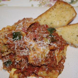 Italian Night Ground Beef Ravioli Dinner