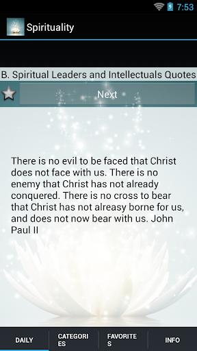 Daily Spiritual Quotes