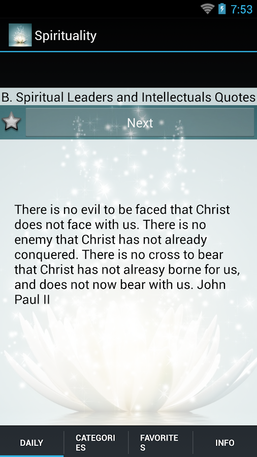 Daily Spiritual Quotes- screenshot