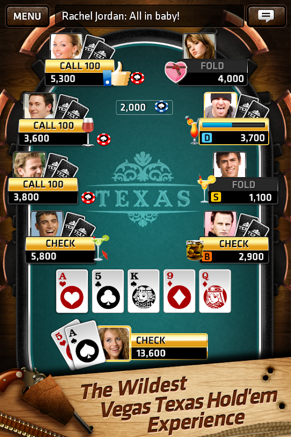 How to play texas holdem poker in las vegas