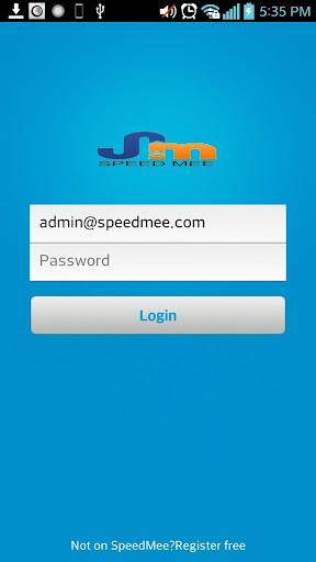 SpeedMee App Social