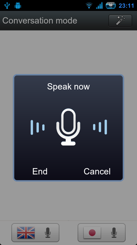 Voice Translator(Translate) - screenshot