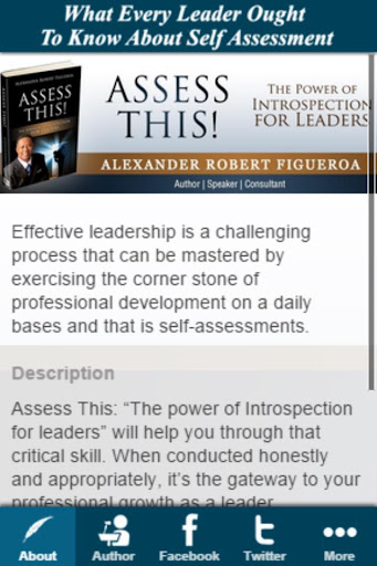 Introspection for leaders