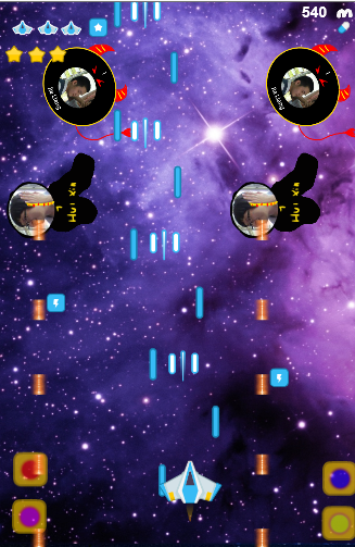 S3 Space war- screenshot