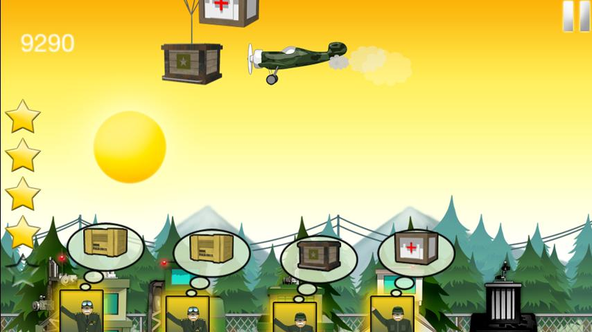 Airborne Supply - screenshot