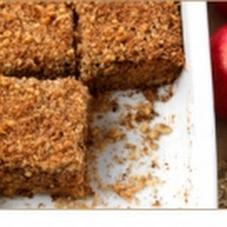 Oatmeal, Carrot & Apple Breakfast Squares