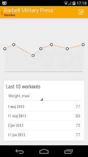 Dumbbell - Gym Log- screenshot thumbnail
