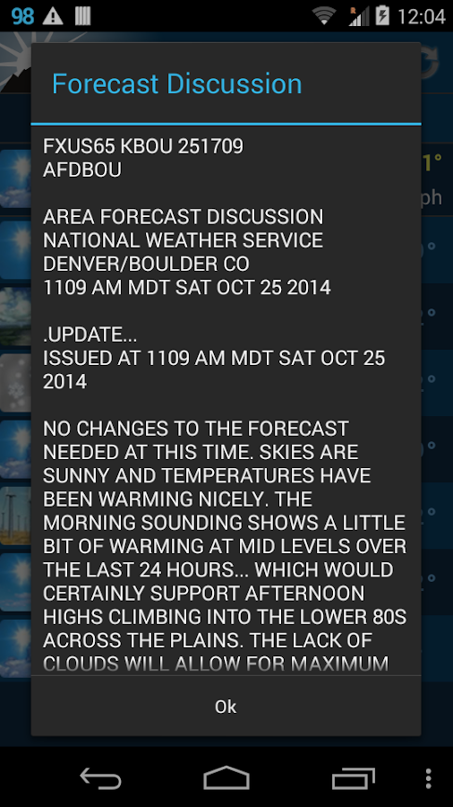 NOAA Weather Unofficial (Pro) - screenshot