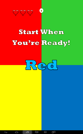 Tap the Right Color rgby