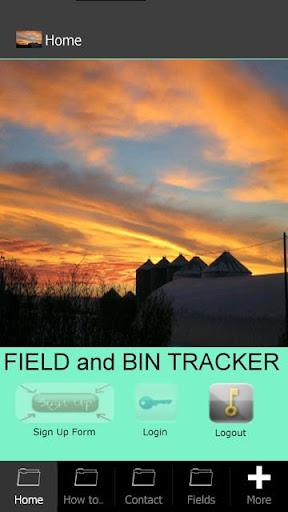 Field and Bin Tracker