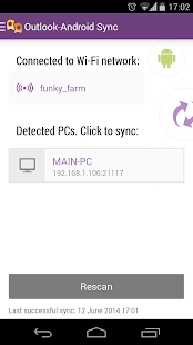 Outlook-Android Sync- screenshot thumbnail