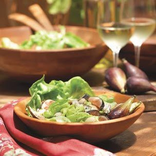 Fig Salad with Cabrales Cheese and Marcona Almonds.