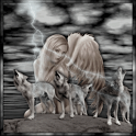 Wolves Fairy Live Wallpaper icon