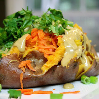 Thai Loaded Sweet Potatoes