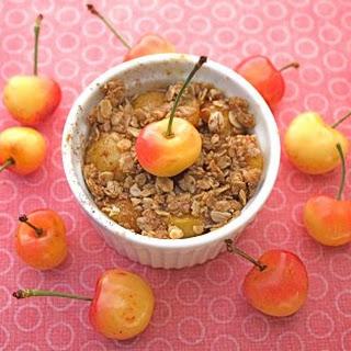 Cherry Oatmeal Crisp