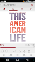 Screenshot of This American Life - Podcast