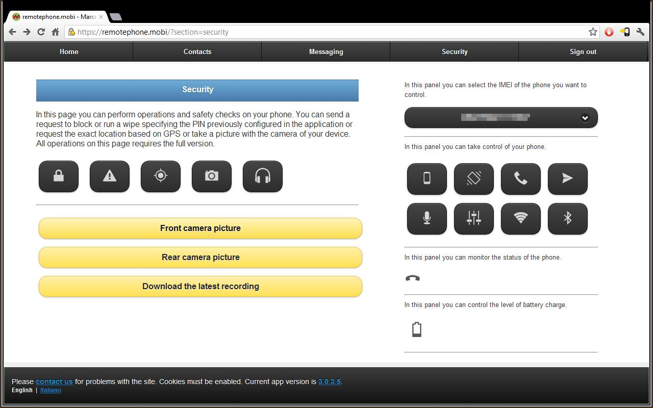 Remote Phone- screenshot
