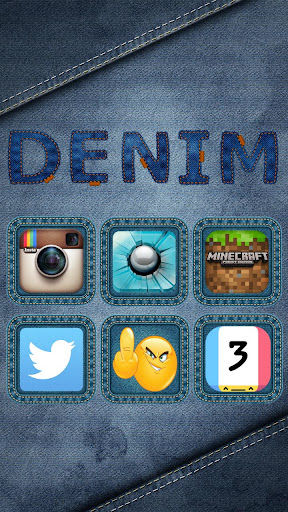 DENIM HD NOVA APEX ADW THEME