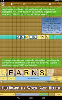 Screenshot of Words Solver 4 Friends + Ten