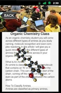 Organic Chemistry Class