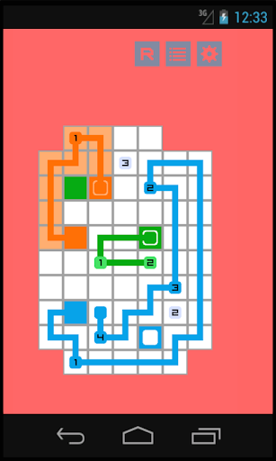 Numbers Connect-Puzzle