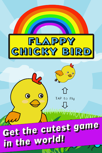 Chicky Bird in Rainbow Land