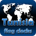 Tunisia flag clocks icon
