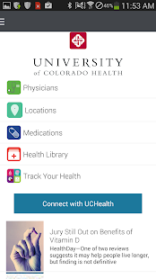University of Colorado Health - screenshot thumbnail