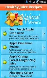 玩生活App|Healthy Juice Recipes免費|APP試玩