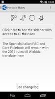 Screenshot of Heroclix Rules