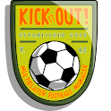 Kick it out! Football Manager logo