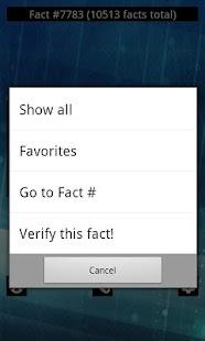10,500+ Cool Facts Screenshot 4