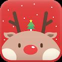 Red Rudolph Go Locker theme icon