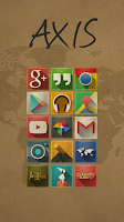 Screenshot of Axis - Icon Pack