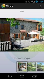 Gîtes et Chambres d'hôtes - screenshot thumbnail