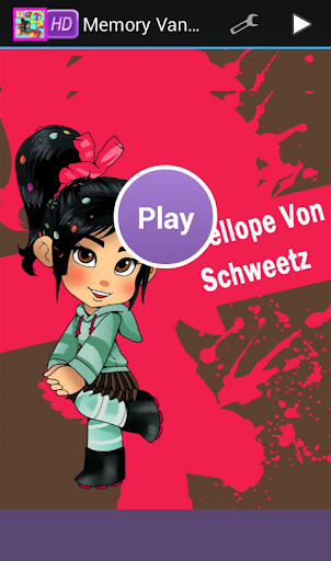 Memory Vanellope Education