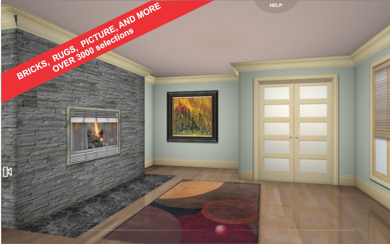 3d Interior Room Design Screenshot
