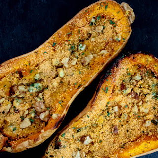 Twice Baked Blue Cheese Butternut Squash.